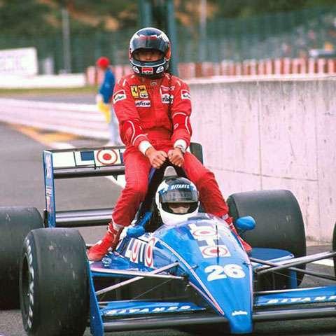 Grande Prêmio do Japão de 1988: o sueco Stefan Johansson e o austríaco Gerhard Berger