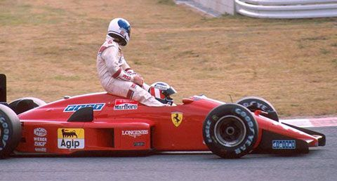 Grande Prêmio do Japão de 1988: o austríaco Gerhard Berger e o inglês Derek Warwick